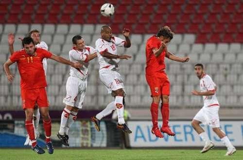 Moment of Malta - Macedonia match