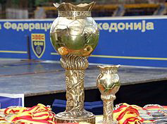 The Macedonian Cup trophy