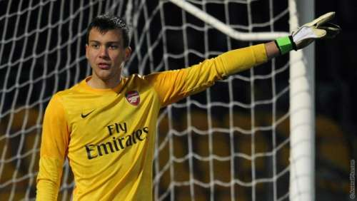 Dejan Iliev in Arsenal, photo: Arsenal.com