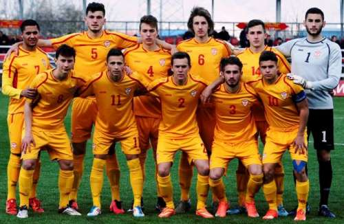 Macedonia U18; photo FFM
