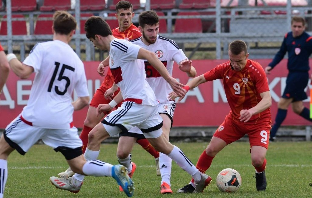 U19 Macedonia v Georgia feb 2020