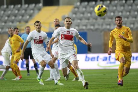 Moment of the Poland vs. Macedonia friendly in Antalya; photo: pzpn.pl