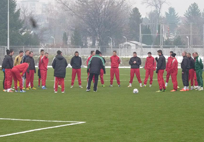 Mladost on training