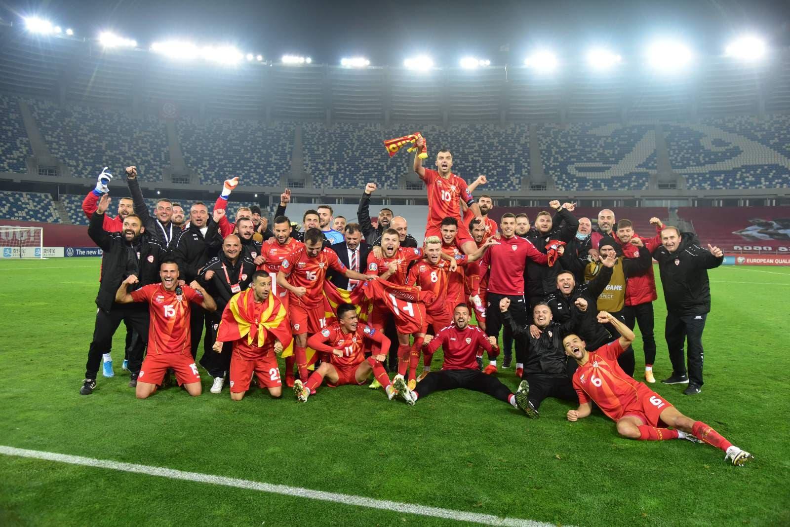 Football macédonien | LA MACÉDOINE SE QUALIFIE POUR L'EURO 2020 !!! (Vidéo) - Euro 2020